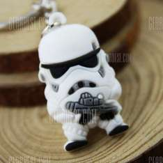 Storm trooper key ring ( bargain ) - 46p @ GearBest