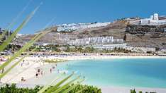 Cheap flights to Gran Canaria from Manchester during the Christmas break. £70 quid return for an adult @ Norwegian air