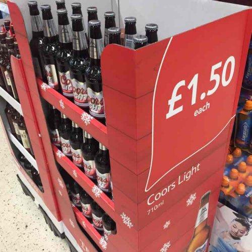 Coors 710ml giant bottle £1.50 @ Tesco instore