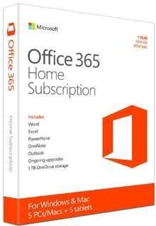 Office 365 Home £49.99 @ Electronic first