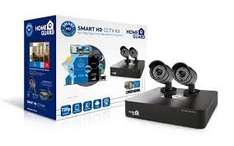 HomeGuard CCTV Kit Smart HD 720p 4 Channel with 2 Camera 1TB DVR CCTV HDMI Kit £99.49 / £104.28 collect from local shops @ Scan
