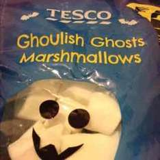 Just 50p! - Tesco: Ghoulish Ghosts Marshmallows!