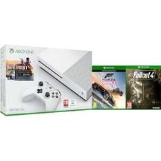Xbox One S 500gb with battlefield 1, forza horizon 3 & fallout 4 £228.79 at zavvi with code