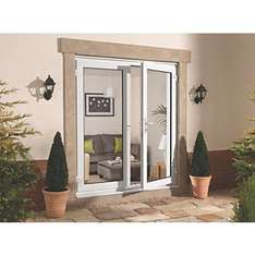French doors £447.94 @ Screwfix (GB del only)