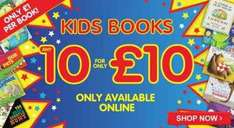 children's books 10 for £10 @ The Works
