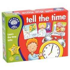 Orchard Toys Tell The Time Educational Game £2.97 @ tesco direct free click and collect to store.