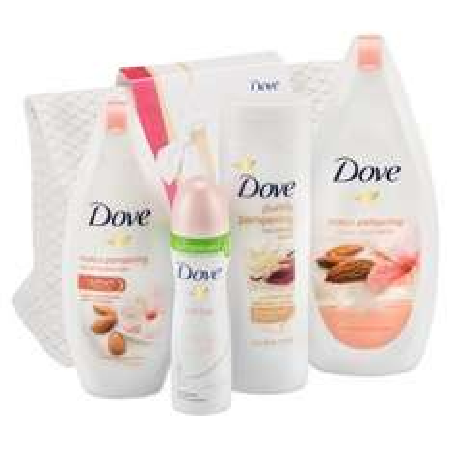 Dove Pampering Moments Washbag Gift Set @ Tesco, now half price £7.50