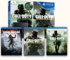 PS4 Slim 1TB + Rise of the Tomb Raider + Call of Duty: Infinite Warfare + Call of Duty: Modern Warfare Remastered at Tesco Direct £285.99