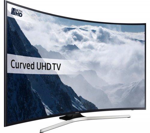"SAMSUNG UE55KU6100 Smart 4K Ultra HD HDR 55"" Curved LED TV - £699 - Currys PC World (Ebay Store)"