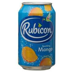 Rubicon Mango 330ml £0.39 OR ANY 3 FOR £1 BM STORES