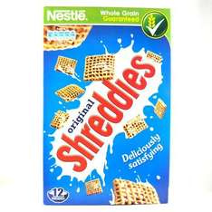 Nestlé Original Shreddies 500g £1 WAS £2.39 ICELAND
