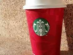 2-4-1 on ALL Christmas drinks at Starbucks, 3-5PM Thu-Sun (3-close for Rewards members), includes £1 filter coffee so from 75p for 2 drinks with own cups