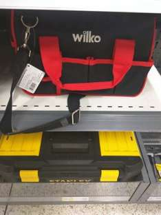 wilkos small tool bag instore for £4