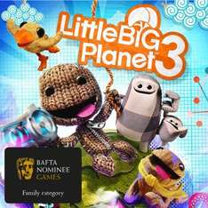 little big planet 3 (ps4) £11.19 non ps+/£6.39 with ps plus @ psn store UK