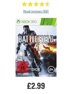 Battlefield 4 on Xbox 360 & PS3 - £2.99 @ Argos