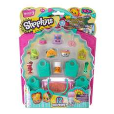 Shopkins series 3 pack of 12 half price and 3 for 2 @ Claire's - £5