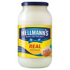Hellmanns Real Mayonnaise 800G @ Tesco - £2