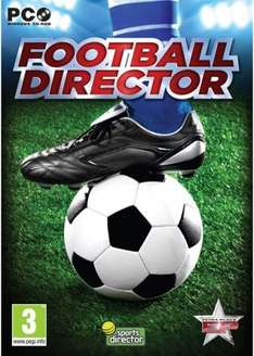 Football Director (PC) 99p Delivered @ Base