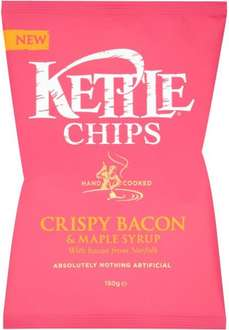 Kettle Chips (150g) was £2.00 now £1.00 @ Morrisons