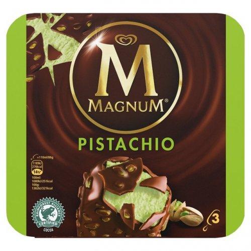 Magnum pistachio 3 pack. 2 packs for £1.50 @ Heron