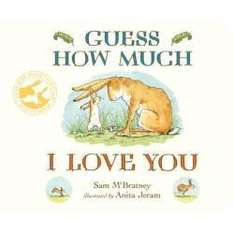 Guess how much I love you book. £3 delivered @ Tesco Direct