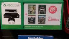 Xbox one s or xbox one with Kinect and fifa 17, batman , dying light and far cry 4 great price with 4 games and Kinect for just 299.99 @HMV