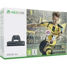 Xbox one S storm grey with FIFA 17 call of duty and now tv pass at game in store and online £259.99 @ GAME