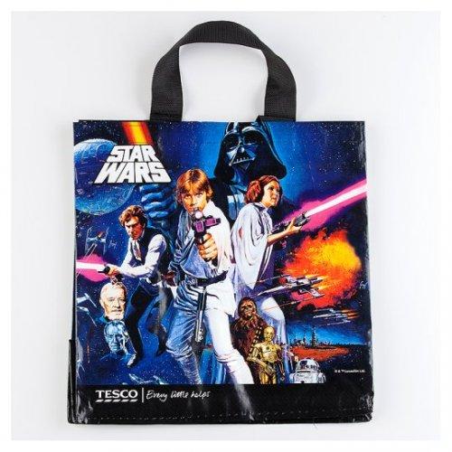Tesco Star Wars Classic Woven Polypropylene Bag - 25p instore (Swindon Store)