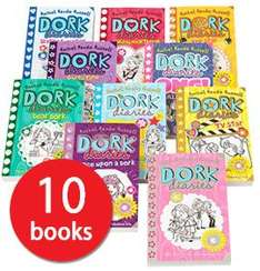 Dork Diaries 10 book set £12.95 delivered The Book People Ends midnight 10/11/16