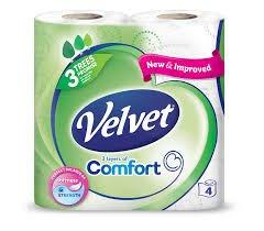 Velvet toilet tissues 10x4 pack for £9.58 @ Costco