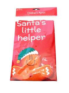 Childs Santa's Little Helper Apron on Amazon - £1.65 delivered - Sold by Just Jackies Bargains