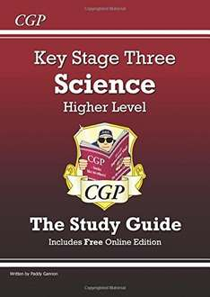 KS3 Science Study Guide (with online edition) - £2.47 (Prime) £5.46 (Non Prime) @ Amazon