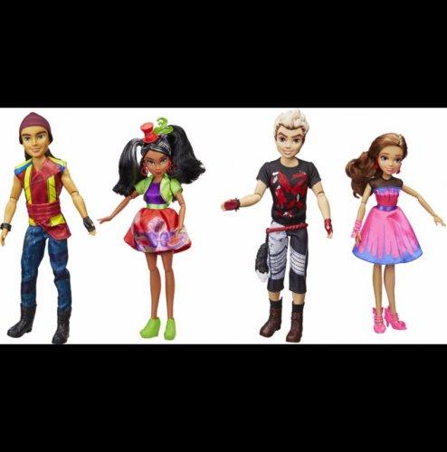 Disney Descendants Neon Lights Dolls 4-Pack - £40 @ ASDA