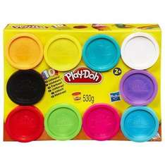 Play Doh 10 - Pack - £8.90 (Prime) £13.65 (Non Prime) @ Sold by ToyWarehouseUK and Fulfilled by Amazon