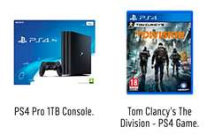 Playstation 4 Pro with Tom Clancy's The Division for £359 (+£10 Voucher back) at Argos