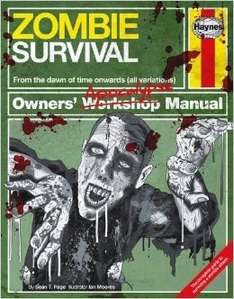 Haynes Zombie Survival Manual £6.00 free delivery to store at the Works - Possibly £4.74 after 22.05% TCB