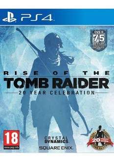 Rise of the Tomb Raider: 20 Year Celebration Artbook Edition on PlayStation 4 at Simply Games for £32.85