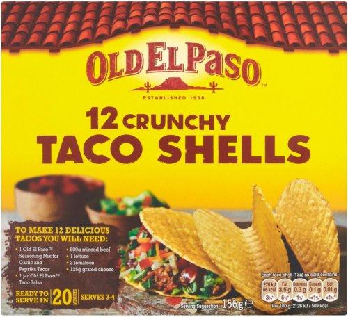 Old El Paso 12 Crunchy Taco Shells (156g) was £1.54 now £1.02 @ Waitrose