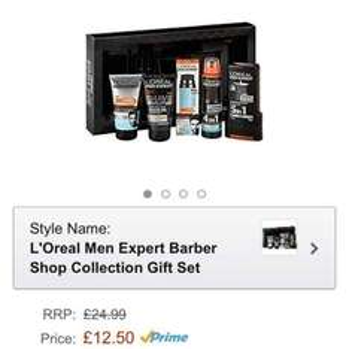 L'Oréal men expert barbershop collection £12.50 prime / £17.25 non prime @ Amazon