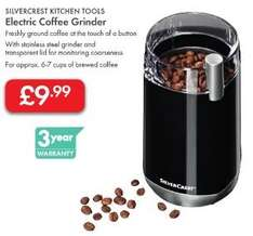 Coffee Grinder (Electric) £9.99 - 3 Year Warranty - LIDL (Silvercrest)