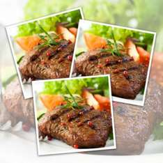 Buy 10 x Matured Free Range Rump Steaks & Get a 26 Piece Lean Meat Hamper FREE! (Meatballs, Burgers, Mince, Steak Burgers and more!- Worth £16.75) £29.95 Delivered @ MuscleFood