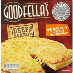 Goodfella's Cheese Deep Pan Baked Pizza (Deliciously Cheesy) ONLY £1 @ ASDA & MORRISONS