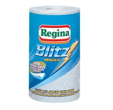 Regina Blitz Original 100 Sheets Half Price Was £2.39 Now £1.19 @ Premier Stores