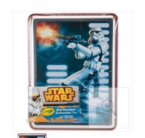 Limited edition Crayola Starwars tin £3.99 at Home Bargains!