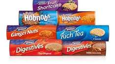Selected Mcvities & Maryland biscuits (including multipacks) was £1.00 now 75p @ Iceland