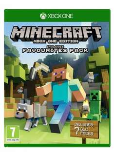 Minecraft with favorites pack dlc Xbox one £14.99 (Prime) @ Amazon