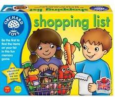 Orchard Toys Shopping List @ Amazon free delivery with Prime (add on item) £2.64