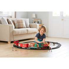 Deluxe Holiday Express Christmas Train Set Now £30 from £50 Asda Direct Free C & C