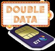 ​BT Mobile SIMO 500Mins, Unlimited text, 4GB Data + £60 amazon voucher + £63 tcb £10pm (£3 profit) for BT customer £15 (or £4.75pm) non