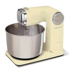 Morphy Richards 400403 Folding Stand Mixer - Cream £39.99 with 15% code £33.99 @ iwoot